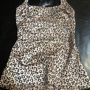 Ruby Ribbon Leopard Cheetah Cami size 32
